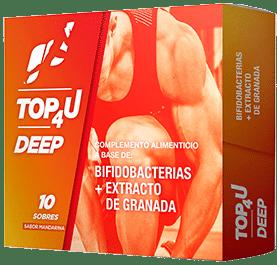 Suplemento para deportistas antiinflamatorio TOP4U DEEP