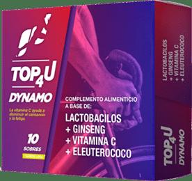Complemento alimenticio para deportistas TOP4U DYNAMO