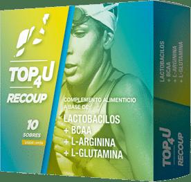 Suplemento alimenticio para deportistas recuperador TOP4U RECOUP